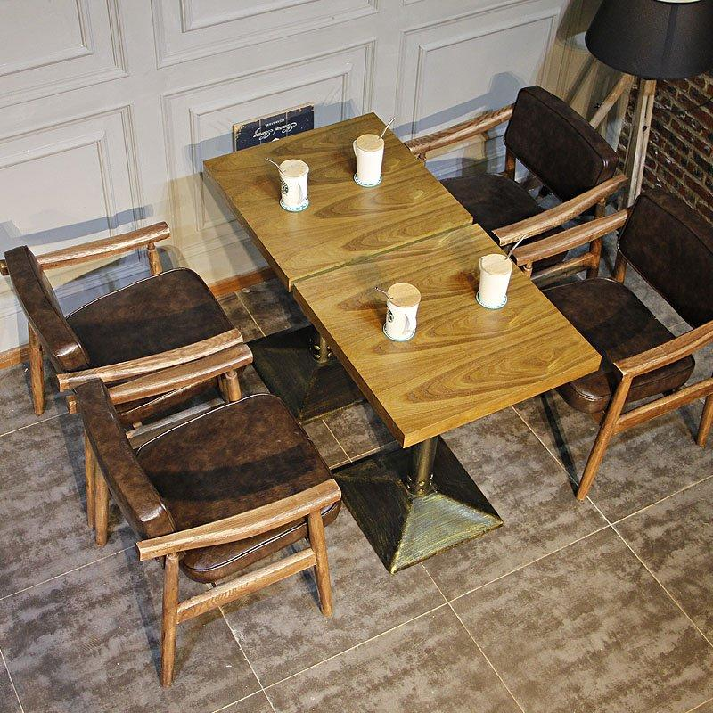 Urban Wooden Restaurant Chair And Table Design GROUP100