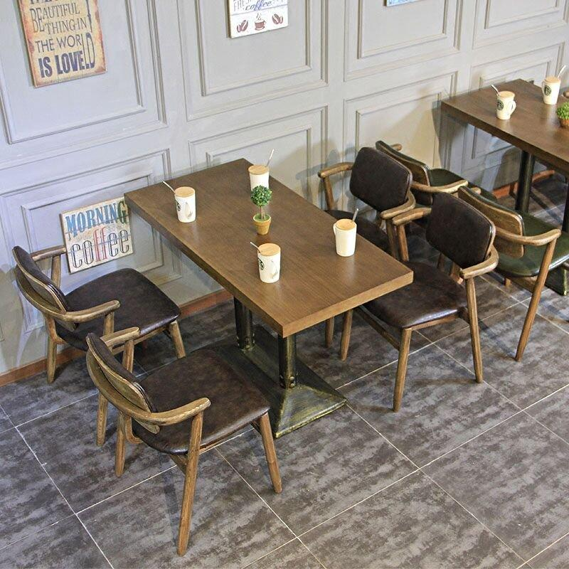 Rustic Bistro Furniture Sets Wood Table Chair GROUP114