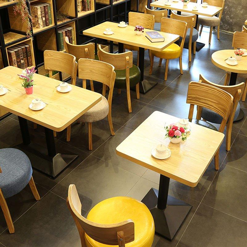 Concise Design Wood Restaurant Furniture For Less GROUP124