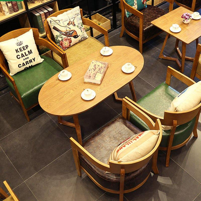 New Design Indoor Coffee Shop Dining Table Sets GROUP128