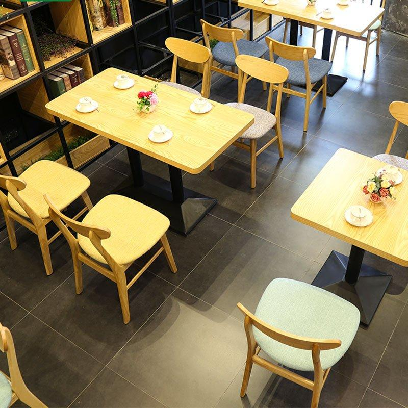 Commercial Dining Room Wooden Table With Chairs GROUP133