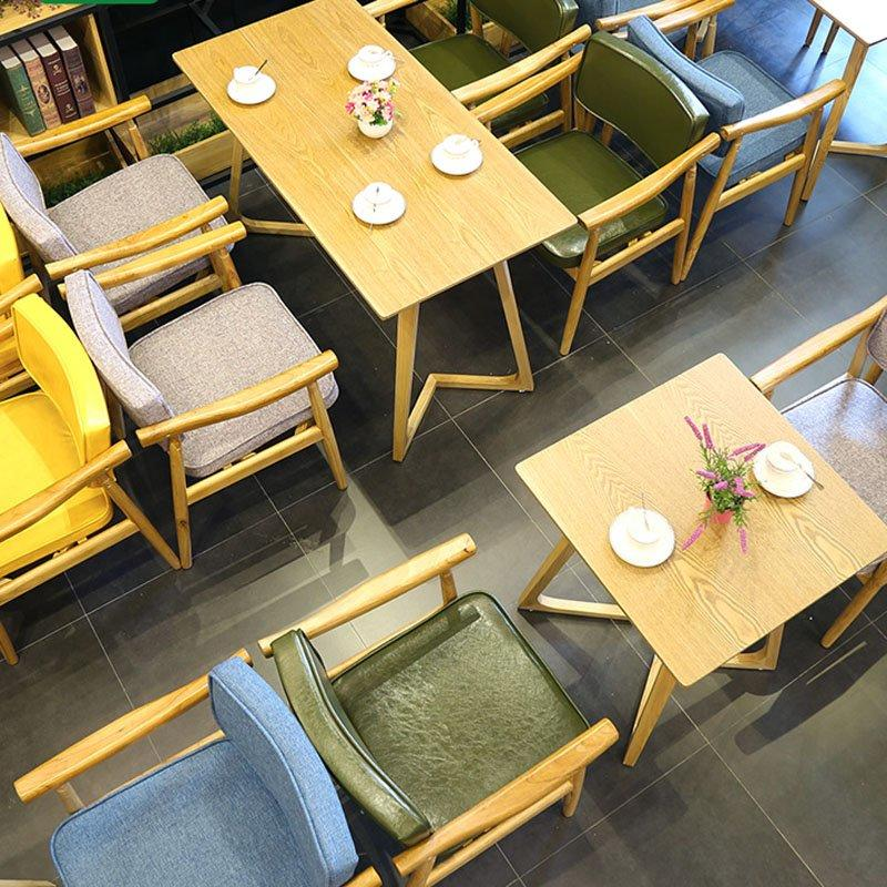 Elegant Restaurant Wooden Armchair And Table GROUP137