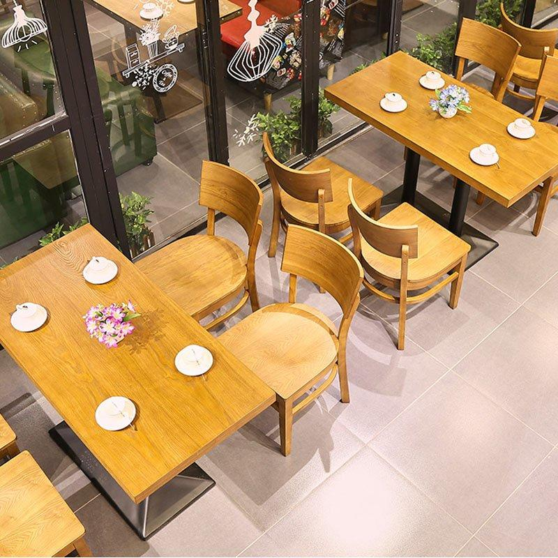 Modern Wood Restaurant Dining Stools And Tables GROUP139