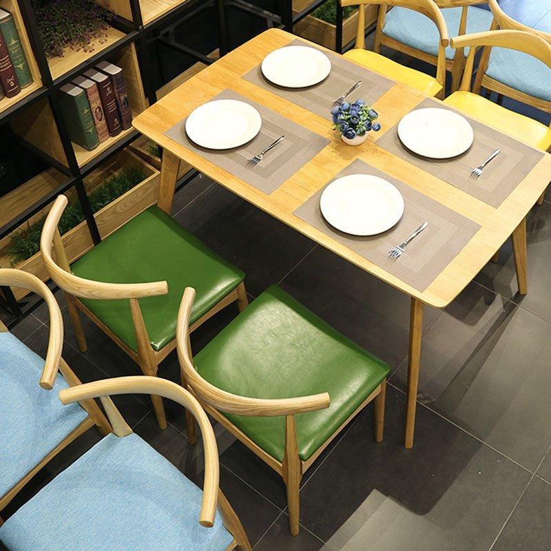 Scandinavian Design Ox Horn Chair And Dining Table GROUP153