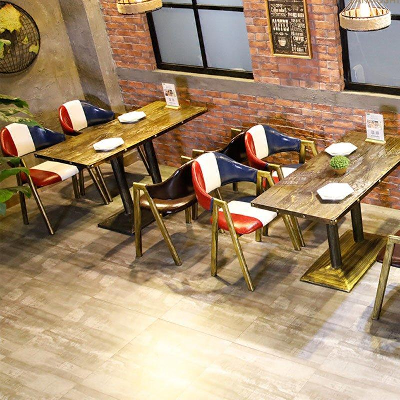 Industrial Wrought Iron Bistro Table And Chairs GROUP172