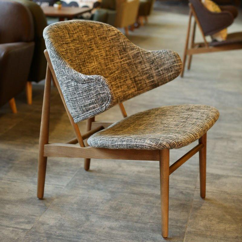 Modern Wood Small Table And Cafe Chair GROUP191