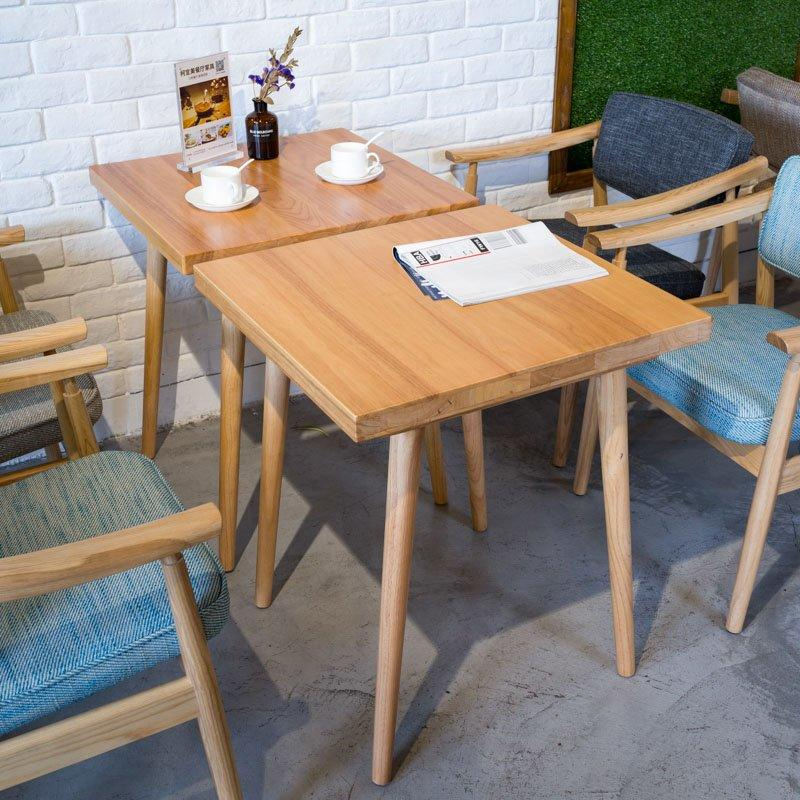 Fashion Wooden Square Table And Armchair GROUP192