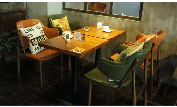 restaurant bar stools and tables
