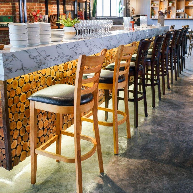 Commercial Restaurant Table And Bar Chair GROUP199