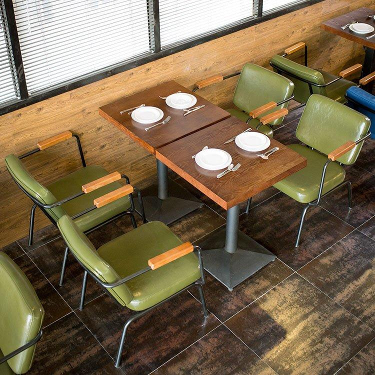 Industrial Bistro Catering Table And Metal Chair GROUP203