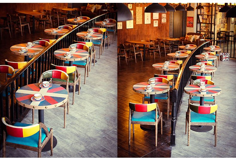 cafe table and stools