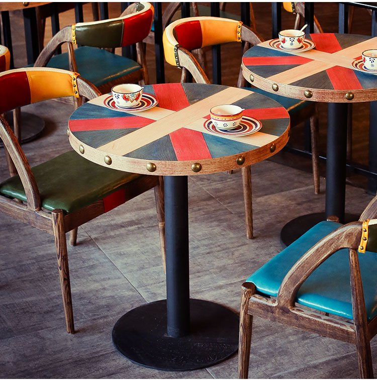 restaurant chair and table design