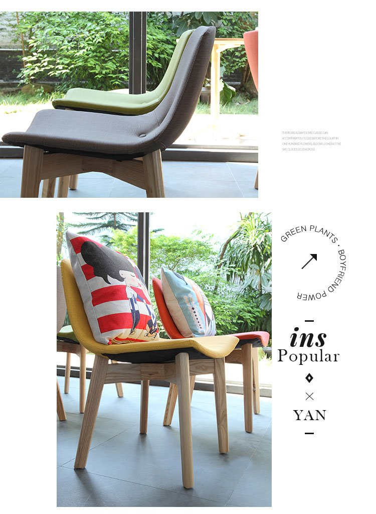 lounge chair and stool