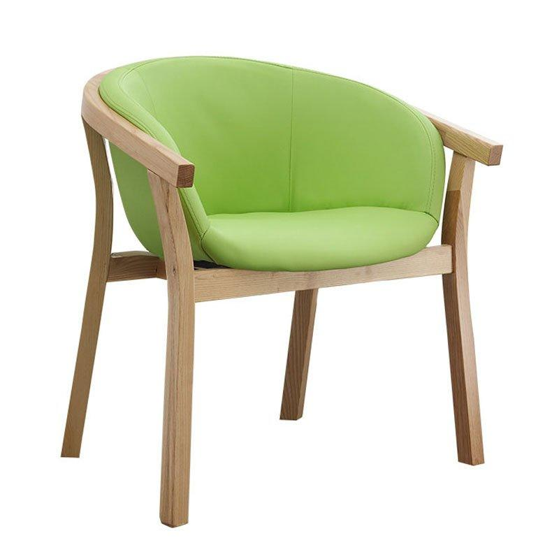 Modern Restaurant Dining Chair With Leather Upholstered CA071