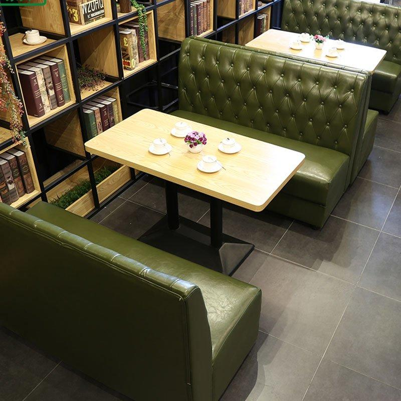 Modern Restaurant Corner Booth Seating And Table SE001-50