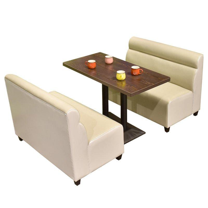 Modern Dining Table And Comfortable Booth Sofa SE001-58