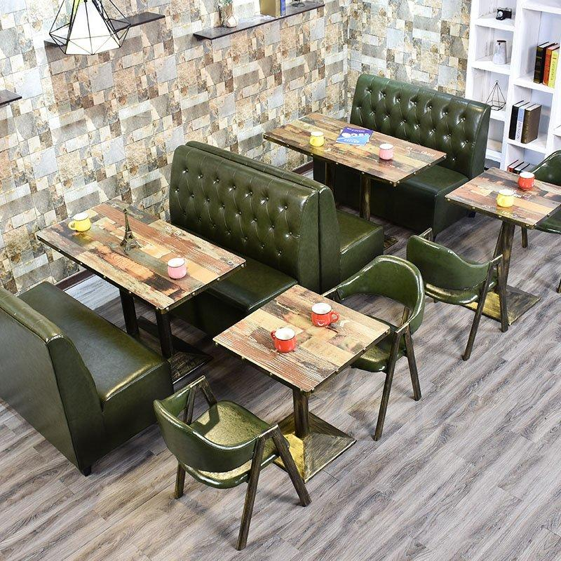 Retro Bar Dining Table And Banquette Seating  SE001-62
