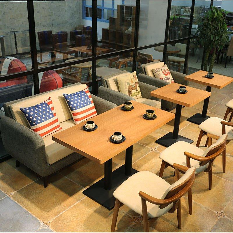 Modern Dining Table And Leather Sectional Sofa SE005-11