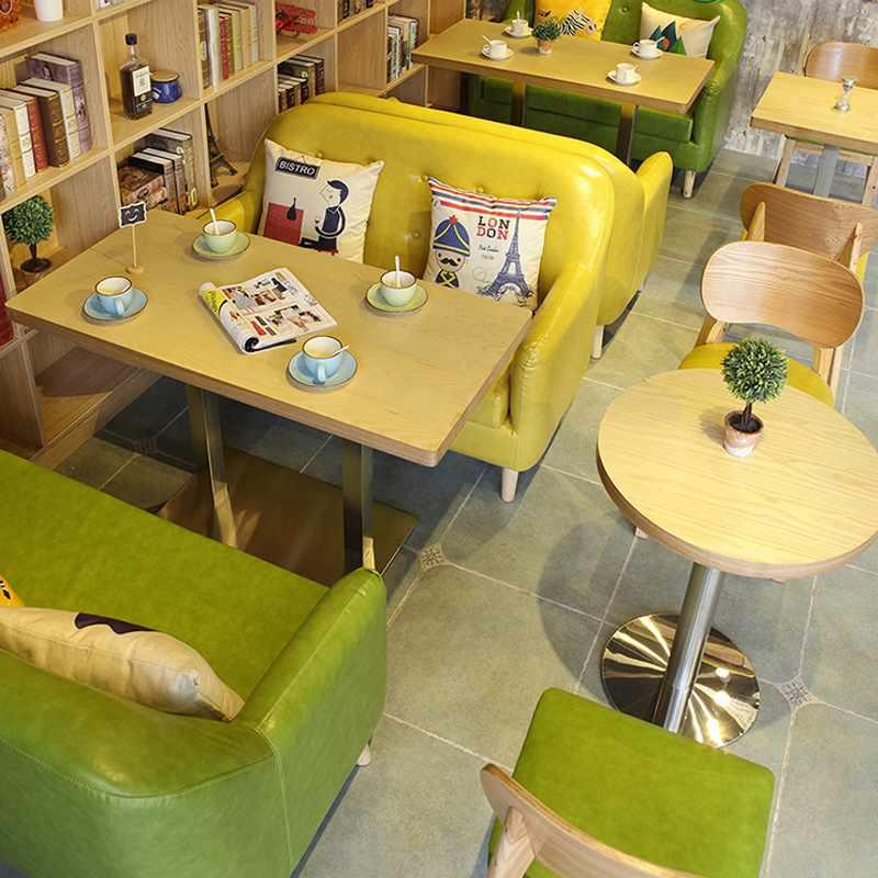 Contemporary Coffee Shop Dining Furniture Set SE008-4