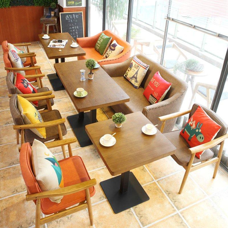 Modern Dining Wooden Table And Bespoke Sofas SE012-15