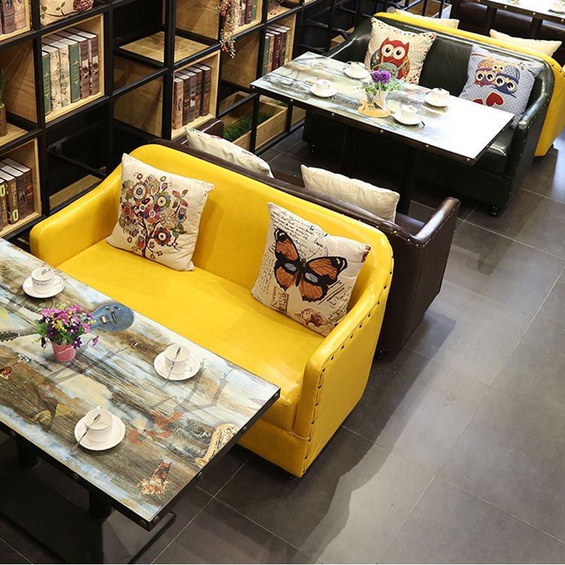 Custom Furniture Restaurant Table And Dining Sofa SE012-22