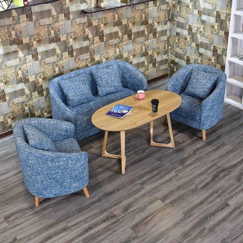 Commercial Coffee Table With Fabric Sofa Seat SE012-28