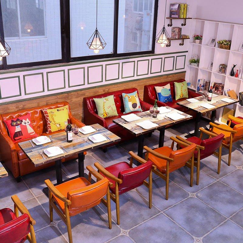 Commercial Bespoke Dining Table Sofa Furniture SE018-2