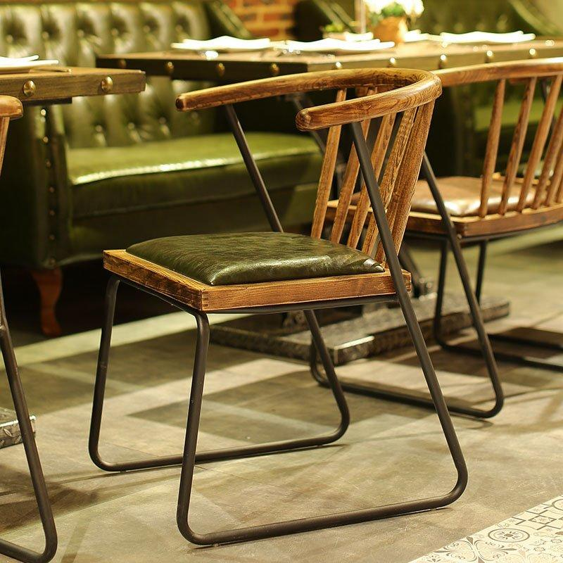 Retro Pull Clasp Sofa And Dining Table SE018-4