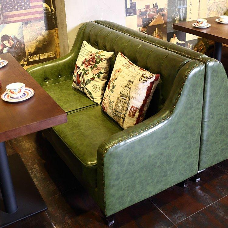 Retro Pub Wooden Dining Table Chair And Sofa SE018-5