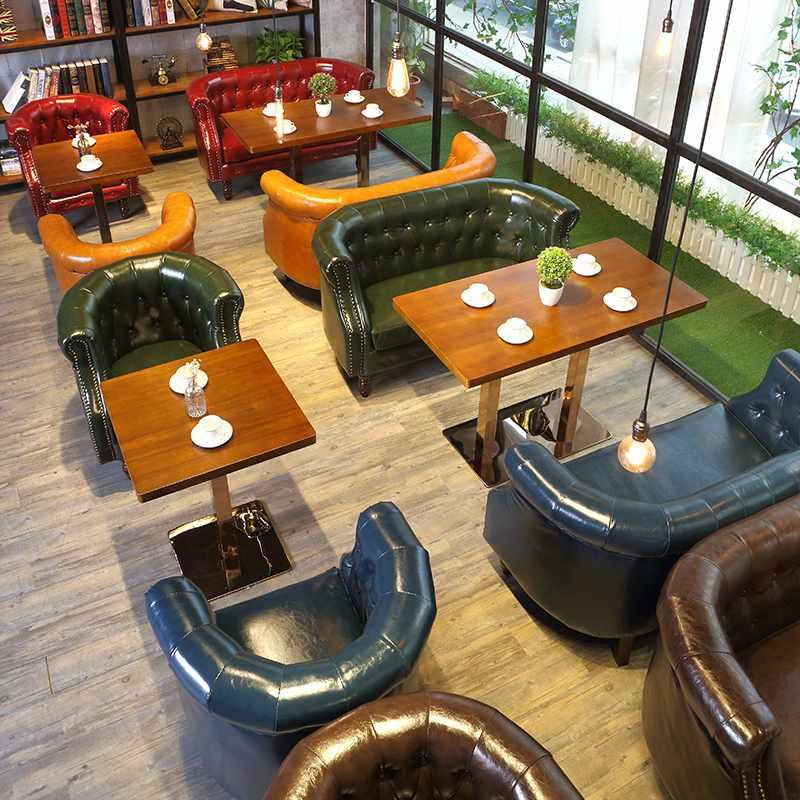 Luxury Restaurant Dining Sofa Seating And Table Set SE023-3