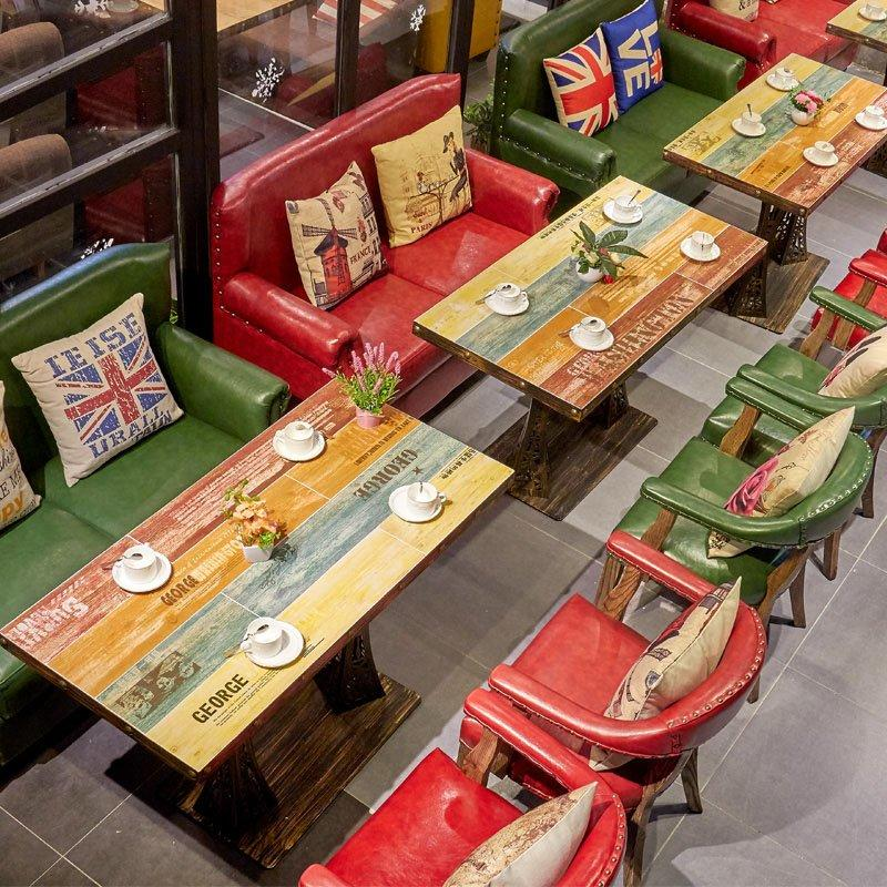 Industrial Catering Table Set With Sofa Seating SE024-2