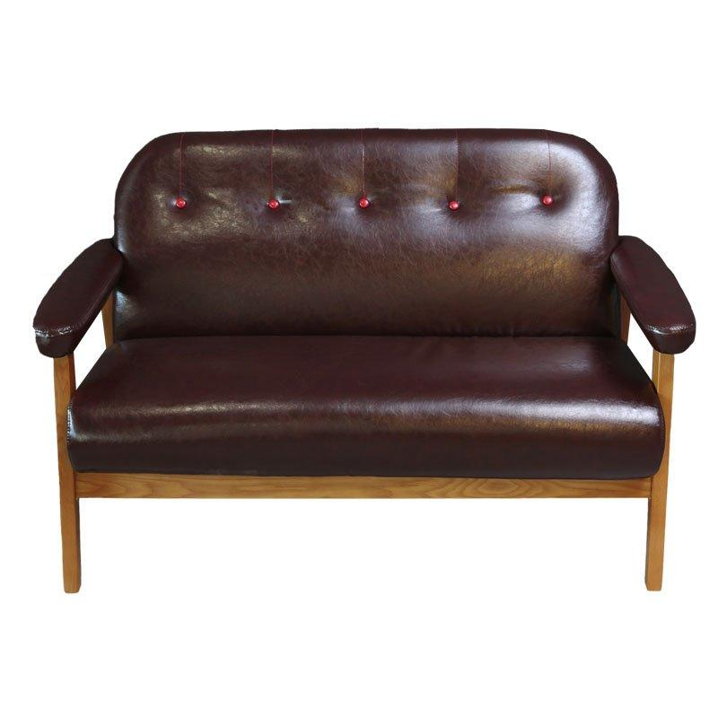 Nordic Coffee Table And Wooden Sofa Chair SE028-2