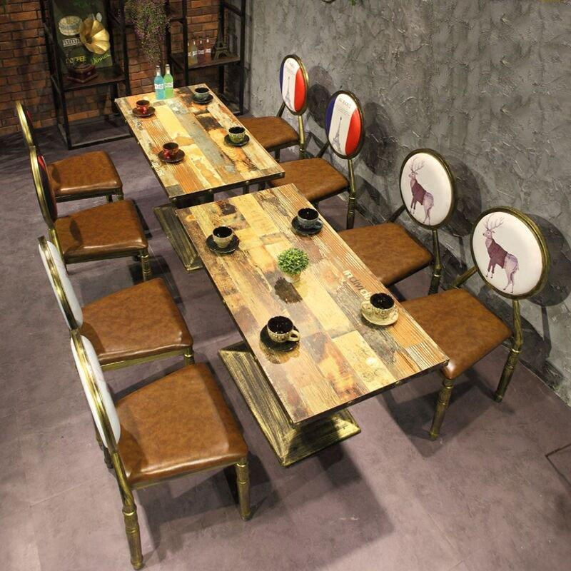 Industrial Style Pub Metal Dining Tables And Chairs GROUP207