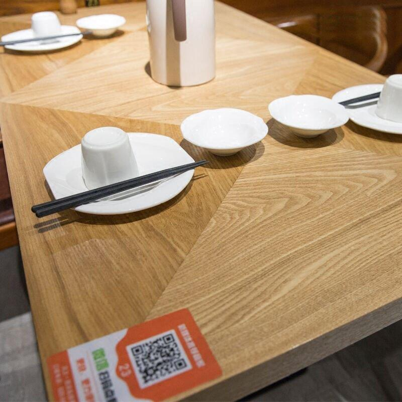 Modern Wood Dining Table And Kennedy Chair GROUP216
