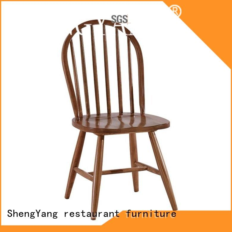 wooden kitchen chairs dining shop wood ShengYang restaurant furniture Brand company