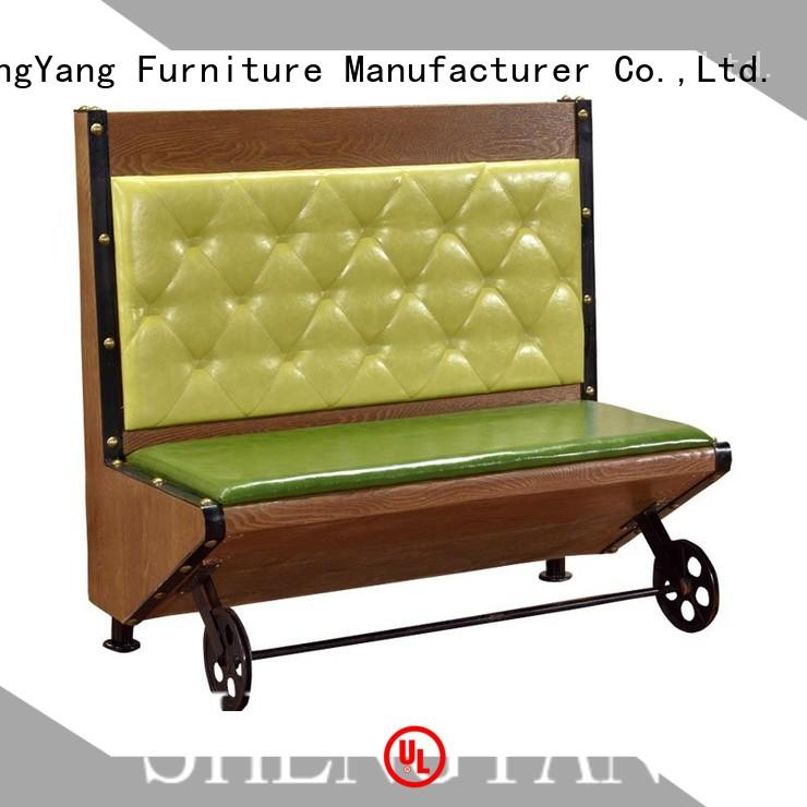 ShengYang restaurant furniture large production dining booth get quotes for restaurant