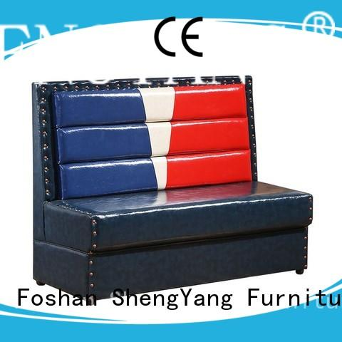 ShengYang restaurant furniture latest pub bench fast delivery for wholesale