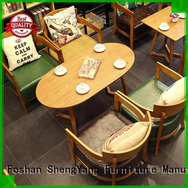 ShengYang restaurant furniture group204 nostalgic furniture international trader for restaurant