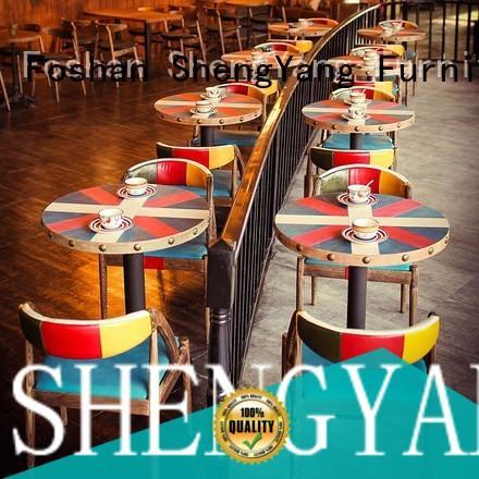 ShengYang restaurant furniture group116 coffee furniture overseas trader for restaurant