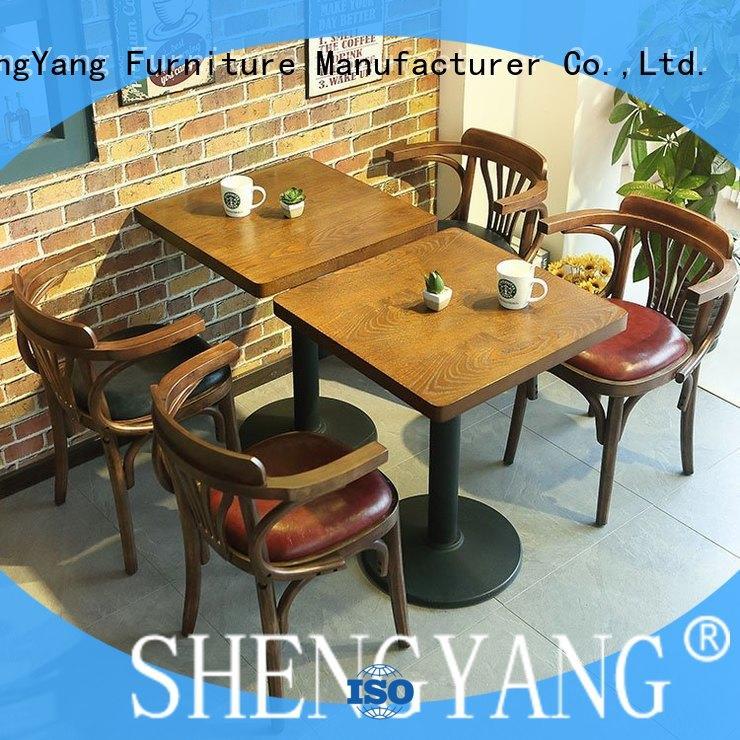 ShengYang restaurant furniture cafe resto furniture trader for restaurant