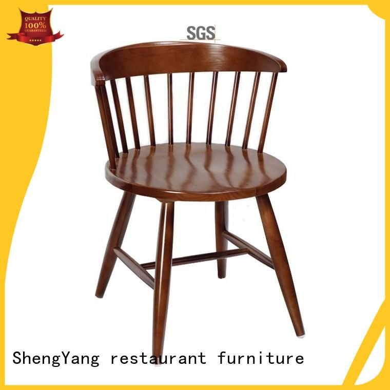 wood chair wooden kitchen chairs ShengYang restaurant furniture manufacture