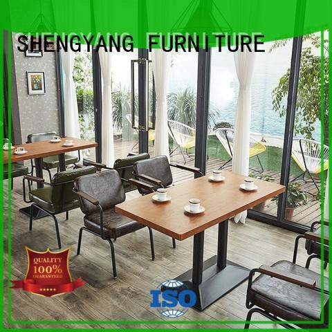 ShengYang restaurant furniture Brand shop customized custom dining room furniture