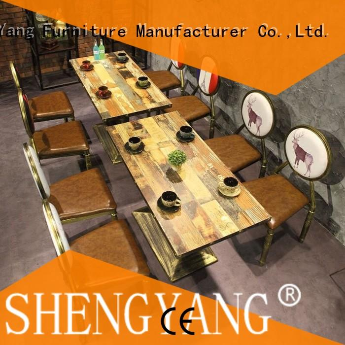 ShengYang restaurant furniture group48 restaurant furniture trader for coffee house