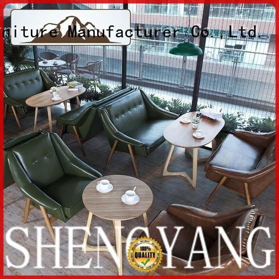 competitive price upholstered banquette bench with back solution expert for VIP lounge ShengYang restaurant furniture
