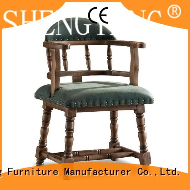 ShengYang restaurant furniture eatery industria chairs design for foyer