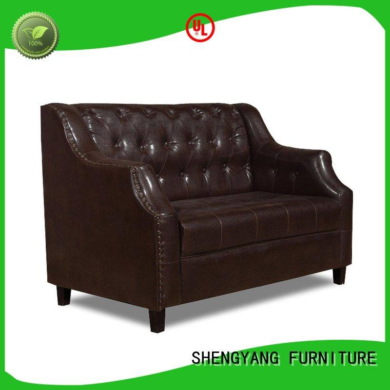 ShengYang Brand sofa booth seating for sale coffee shop