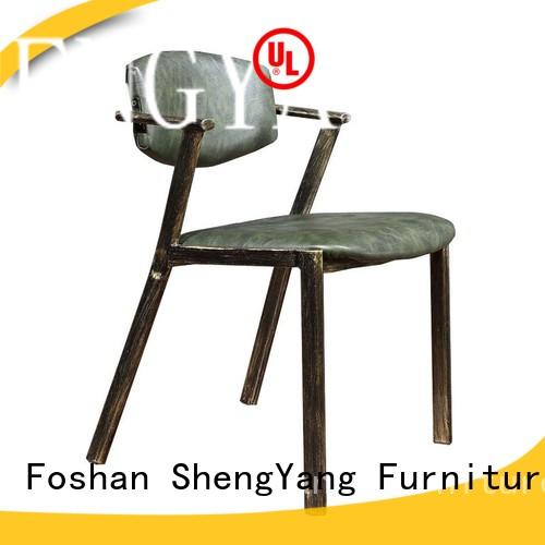 fashional metal chairs producer for wholesale ShengYang restaurant furniture