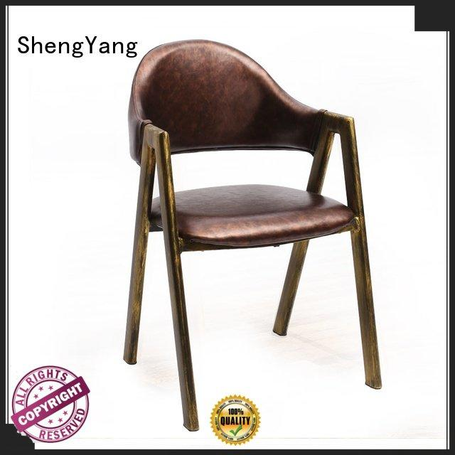 ShengYang metal kitchen chairs modern dining chair